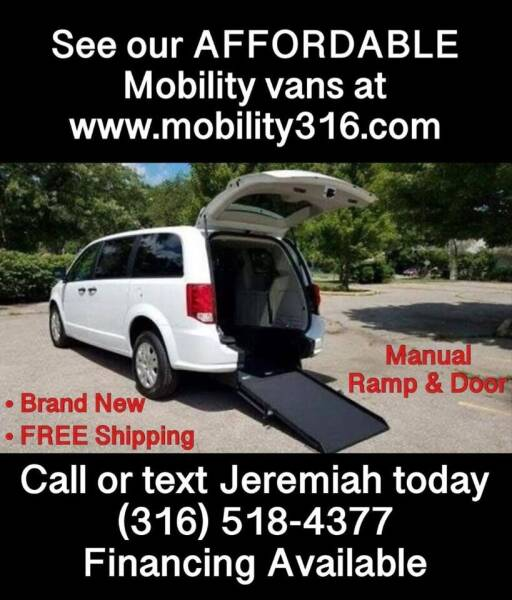 2019 Dodge Grand Caravan for sale at Affordable Mobility Solutions, LLC - Mobility/Wheelchair Accessible Inventory-Wichita in Wichita KS