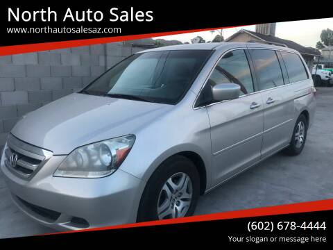 2006 Honda Odyssey for sale at North Auto Sales in Phoenix AZ