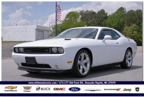 2014 Dodge Challenger for sale at WHITE MOTORS INC in Roanoke Rapids NC