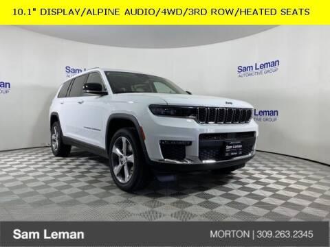 2021 Jeep Grand Cherokee L for sale at Sam Leman CDJRF Morton in Morton IL