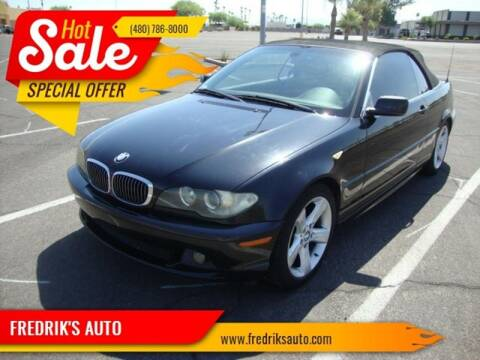2005 BMW 3 Series for sale at FREDRIK'S AUTO in Mesa AZ