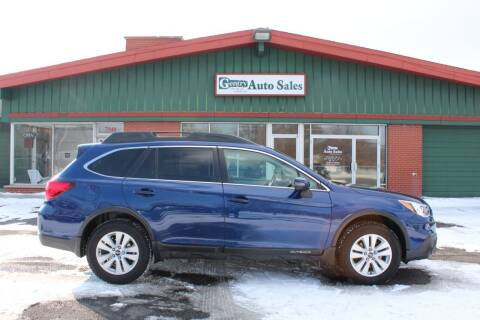 2015 Subaru Outback for sale at Gentry Auto Sales in Portage MI