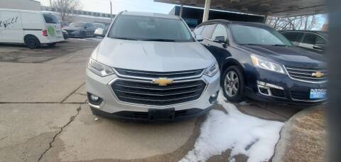 2018 Chevrolet Traverse for sale at Divine Auto Sales LLC in Omaha NE