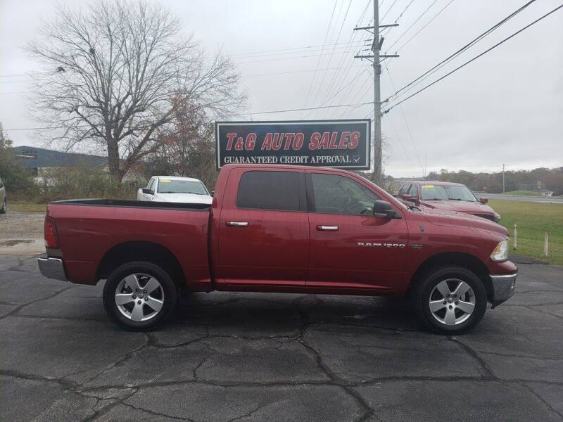 2011 RAM Ram Pickup 1500 for sale at T & G Auto Sales in Florence AL