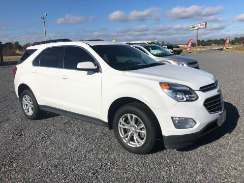2017 Chevrolet Equinox for sale at RAYMOND TAYLOR AUTO SALES in Fort Gibson OK