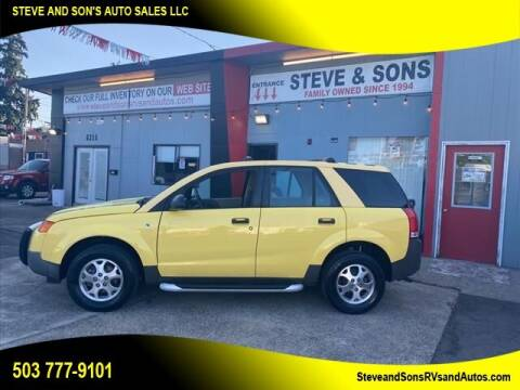 2003 Saturn Vue for sale at Steve & Sons Auto Sales in Happy Valley OR