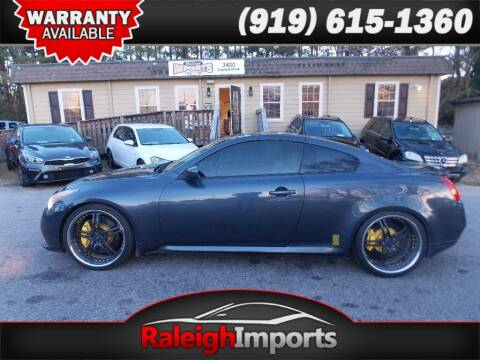 2011 Infiniti G37 Coupe for sale at Raleigh Imports in Raleigh NC