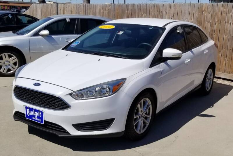 2016 Ford Focus for sale at Budget Motors in Aransas Pass TX
