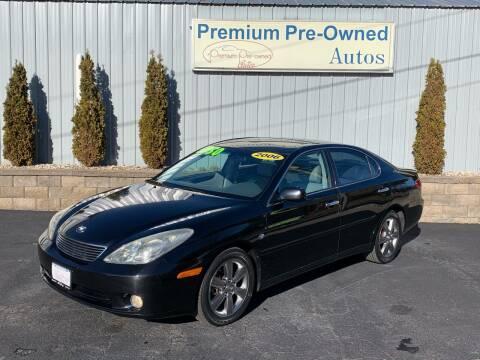 2006 Lexus ES 330 for sale at PREMIUM PRE-OWNED AUTOS in East Peoria IL