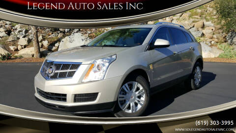 2010 Cadillac SRX for sale at Legend Auto Sales Inc in Lemon Grove CA