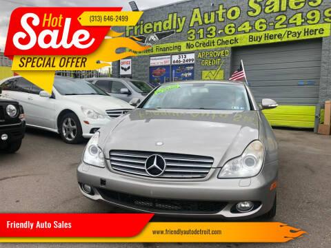2007 Mercedes-Benz CLS for sale at Friendly Auto Sales in Detroit MI