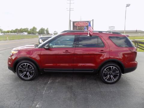 2015 Ford Explorer for sale at MYLENBUSCH AUTO SOURCE in O` Fallon MO