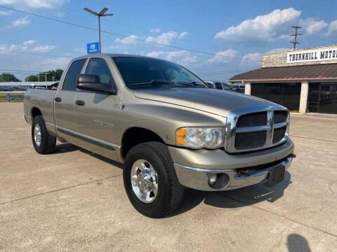 2004 Dodge Ram Pickup 2500 for sale at Thornhill Motor Company in Hudson Oaks, TX