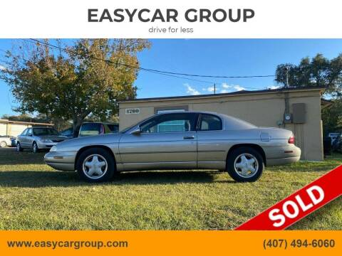 1998 Chevrolet Monte Carlo for sale at EASYCAR GROUP in Orlando FL