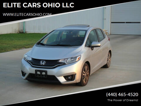 2015 Honda Fit for sale at ELITE CARS OHIO LLC in Solon OH