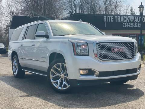 2016 GMC Yukon XL for sale at Rite Track Auto Sales in Canton MI
