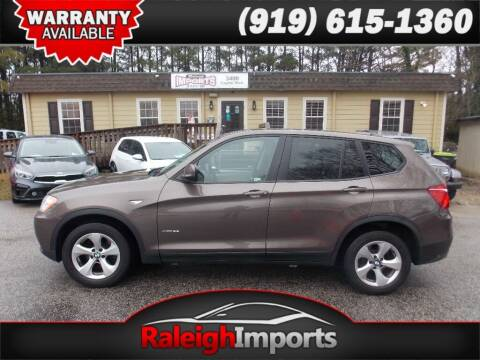 2011 BMW X3 for sale at Raleigh Imports in Raleigh NC