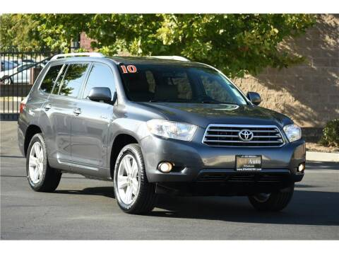 2010 Toyota Highlander for sale at A-1 Auto Wholesale in Sacramento CA