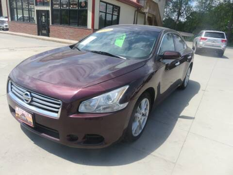 2014 Nissan Maxima for sale at Azteca Auto Sales LLC in Des Moines IA