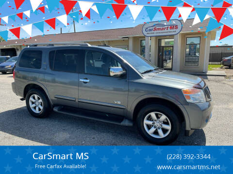 2008 Nissan Armada for sale at CarSmart MS in Diberville MS