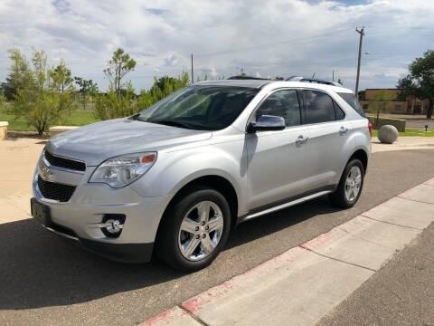 2015 Chevrolet Equinox for sale at Beaton's Auto Sales in Amarillo TX