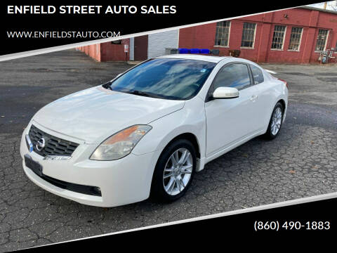 2008 Nissan Altima for sale at ENFIELD STREET AUTO SALES in Enfield CT