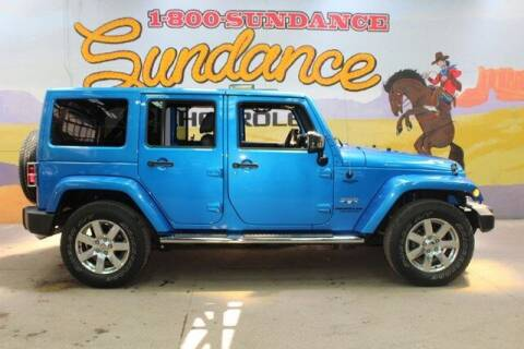 2016 Jeep Wrangler Unlimited for sale at Sundance Chevrolet in Grand Ledge MI