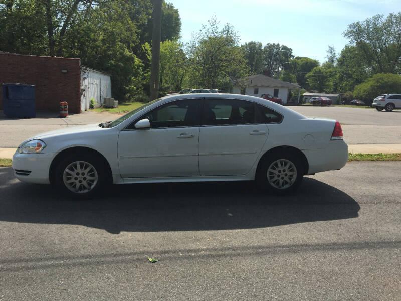 2010 Chevrolet Impala for sale at Diamond Auto Sales in Lexington NC