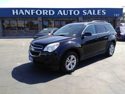 2015 Chevrolet Equinox for sale at Hanford Auto Sales in Hanford CA