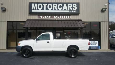 2006 Toyota Tundra for sale at MotorCars LLC in Wellford SC