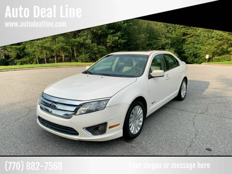 2010 Ford Fusion Hybrid for sale at Auto Deal Line in Alpharetta GA