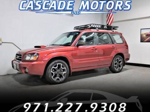 2004 Subaru Forester for sale at Cascade Motors in Portland OR