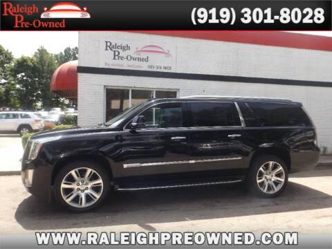 2016 Cadillac Escalade ESV for sale at Raleigh Pre-Owned in Raleigh NC