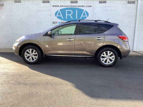 2012 Nissan Murano for sale at ARIA  AUTO  SALES in Raleigh NC