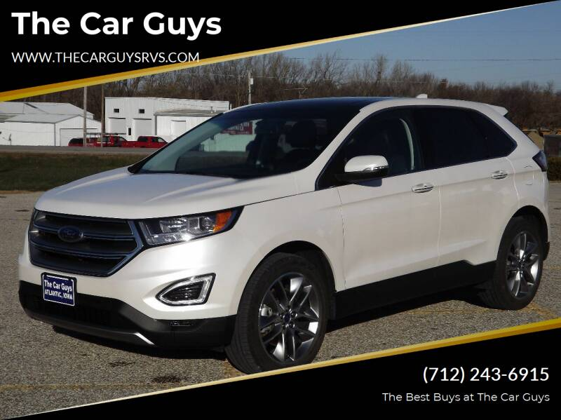 2017 Ford Edge for sale at The Car Guys in Atlantic IA