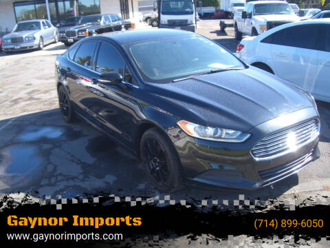 2014 Ford Fusion for sale at Gaynor Imports in Stanton CA