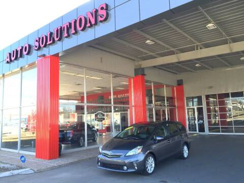 2013 Toyota Prius v for sale at Auto Solutions in Warr Acres OK