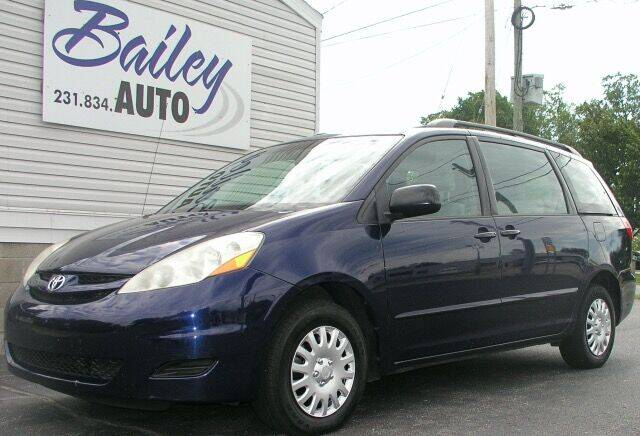 2007 Toyota Sienna for sale at Bailey Auto LLC in Bailey MI