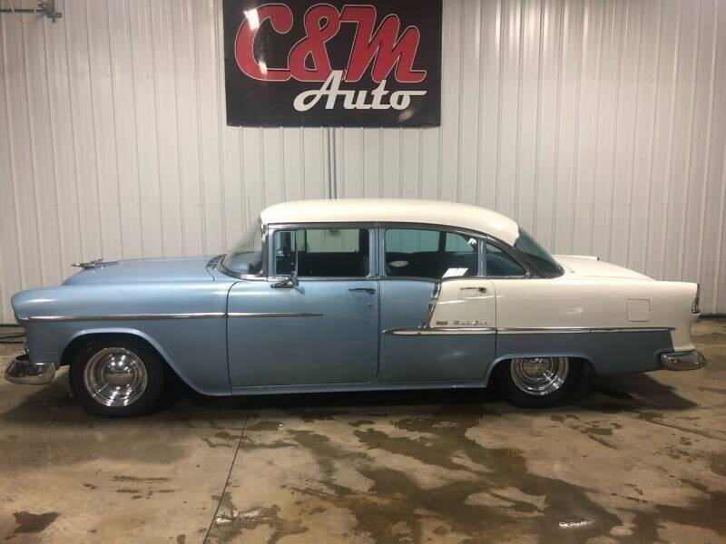 1955 Chevrolet Bel Air for sale at C&M Auto in Worthing SD