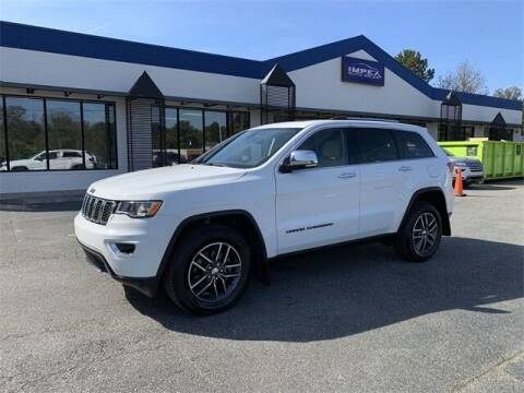 2017 Jeep Grand Cherokee for sale at Impex Auto Sales in Greensboro NC