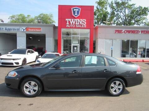 2014 Chevrolet Impala Limited for sale at Twins Auto Sales Inc in Detroit MI