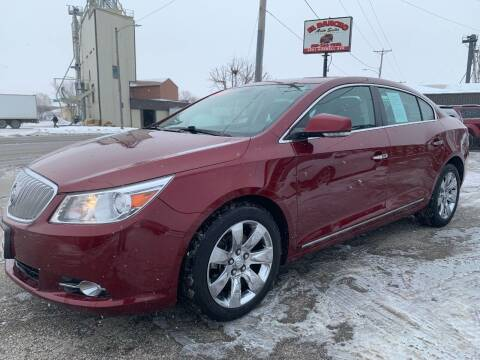 2010 Buick LaCrosse for sale at El Rancho Auto Sales in Des Moines IA