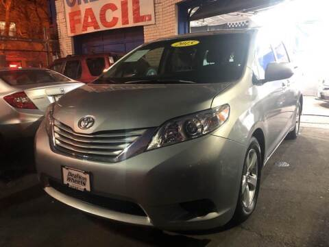 2015 Toyota Sienna for sale at DEALS ON WHEELS in Newark NJ