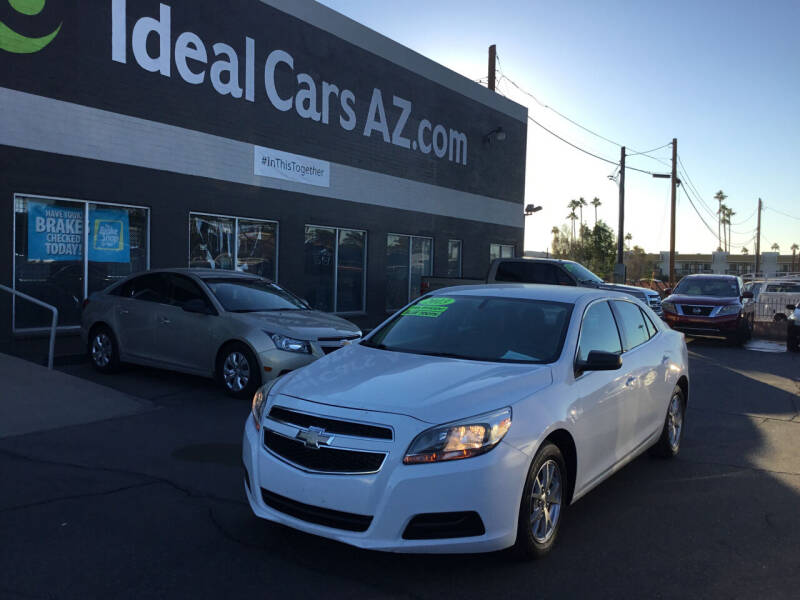 2013 Chevrolet Malibu for sale at Ideal Cars in Mesa AZ