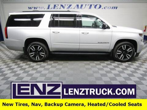 2019 Chevrolet Suburban for sale at LENZ TRUCK CENTER in Fond Du Lac WI
