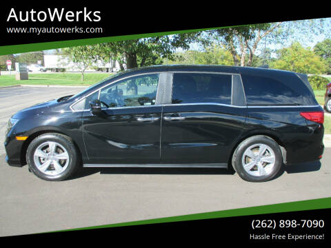 2020 Honda Odyssey for sale at AutoWerks in Sturtevant WI