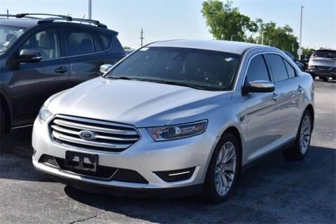 2017 Ford Taurus for sale at BOB ROHRMAN FORT WAYNE TOYOTA in Fort Wayne IN