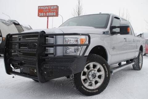 2016 Ford F-250 Super Duty for sale at Frontier Auto & RV Sales in Anchorage AK