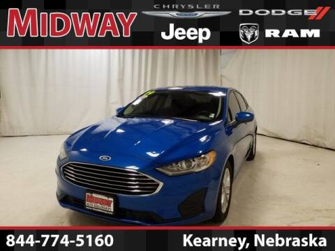 2019 Ford Fusion for sale at MIDWAY CHRYSLER DODGE JEEP RAM in Kearney NE