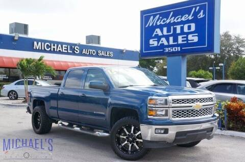 2015 Chevrolet Silverado 1500 for sale at Michael's Auto Sales Corp in Hollywood FL